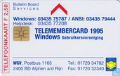 Windows Telemembercard 1995