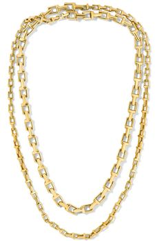 Tiffany & Co - 18 kt gold necklace - 38""