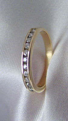 Diamond ring, diamond, 0.20 ct