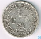 Hong Kong 20 cent 1885