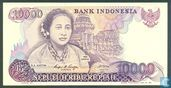 Banknotes - Indonesia - 1984-1988 Issue - Indonesia 10,000 Rupiah 1985