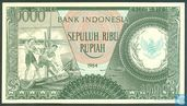 Banknotes - Indonesia - Indonesia 10,000 Rupiah