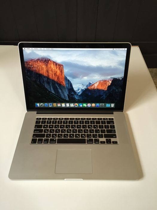Fin Apple Macbook Pro Retina 15 inch - 2.4 GHz Intel Core i7 - SSD 256 AT-31