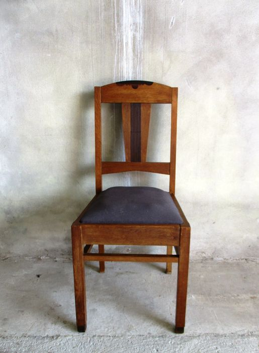 3 amsterdam school dining room chairs catawiki for Dining room furniture auctions