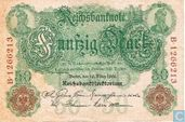 Reichsbanknote, 50 Mark 1906 (P26b)