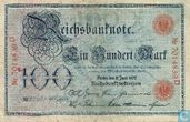 Reichsbanknote, 100 Mark 1907