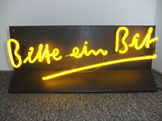 Bitburger Beer Neon Advertising - ca. 1980/90