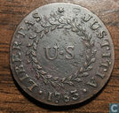 USA  penny  Nova Constellatio  1783
