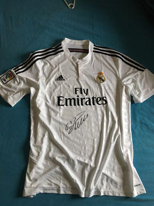 e329ce1ef Cristiano Ronaldo Real Madrid home shirt 14 15 Originally Signed + ...