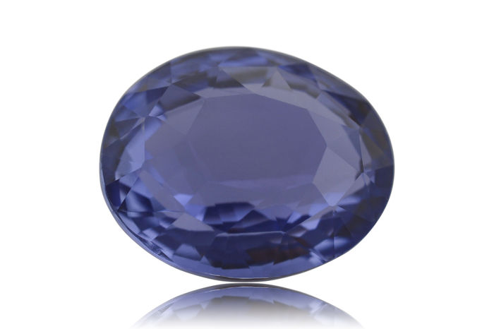 diamond cornflower and sapphire blue ring
