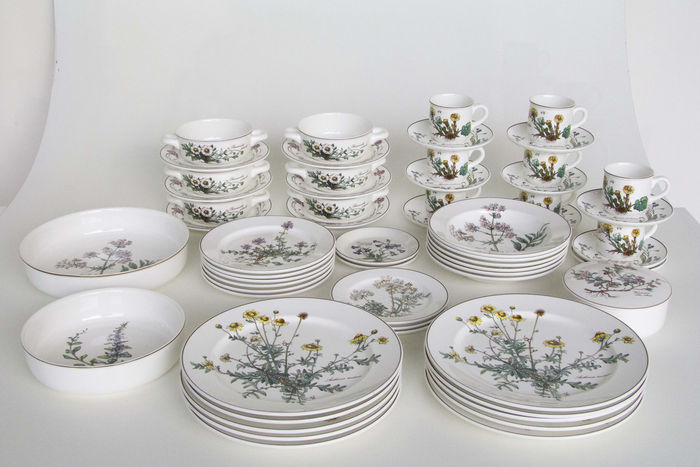Bekannt 60-piece tableware from Villeroy and Boch - series Botanica - Catawiki UV08