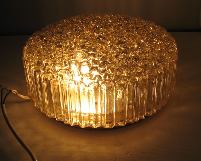 Helena Tynell and Heinrich Gantenbrink - Bubble Glass muur/plafond Lamp.
