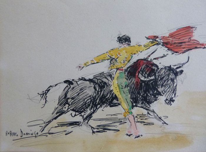 Roberto Domingo Fallola (1883 - 1956 ) - Bullfighting