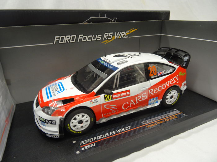 Sunstar - 1:18 - Ford Focus WRC07 #20 - Rally Wales GB 2008 - Limited 1500 pcs.