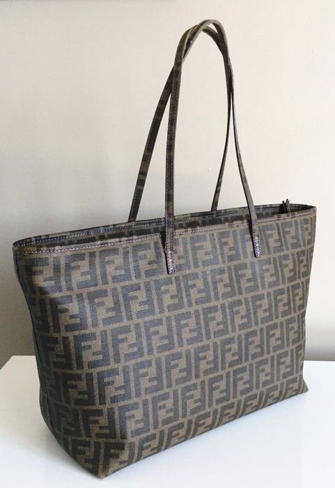 Fendi Catawiki Shopper Fendi Tote Shopper Tote Zucca Zucca O0qZCtwnX