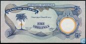Biafra 5 Shillings ND (1968-69)