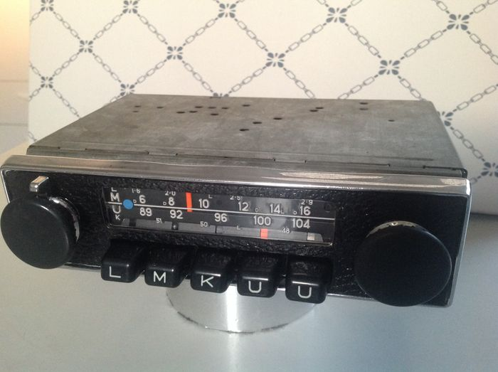 blaupunkt frankfurt oldtimer car radio 1971 catawiki. Black Bedroom Furniture Sets. Home Design Ideas