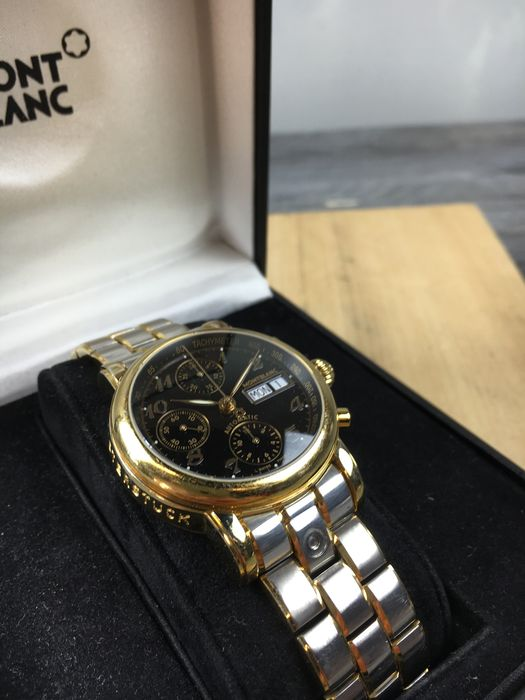9c7af8912b95 Montblanc Meisterstuck Star chronograph – men s watch – reference 4810 501