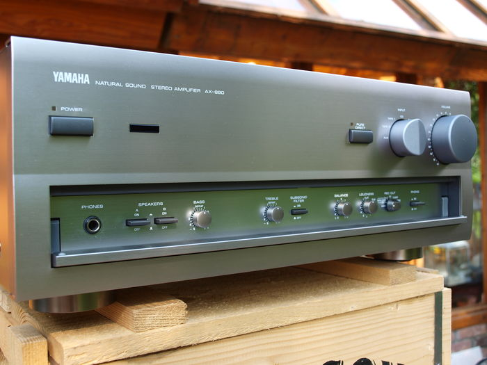 Yamaha ax 890 integrated amplifier catawiki for Yamaha integrated amplifier review