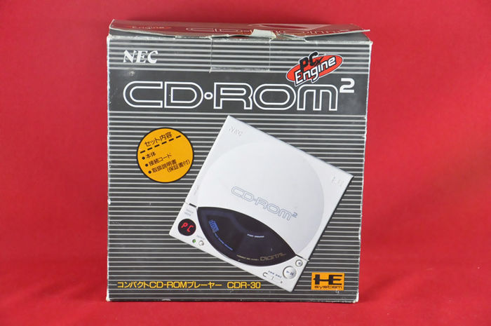 NEC PC Engine CD ROM 2, complete in box - Catawiki