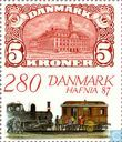 Postage Stamps - Denmark - Stamp Exhibition Hafnia 87