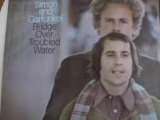 Nice Lot with 8 Great Original Albums of Simon & Garfunkel and Solo (2 doubles)
