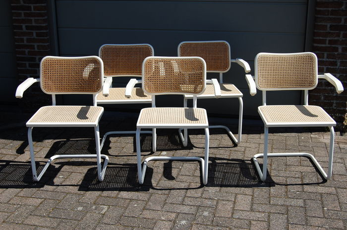 Unique Marcel Breuer – 5x 'Cesca' chairs (replica) - Catawiki TF43