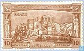 Postage Stamps - Greece - Acropolis