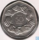 "Verenigd Koninkrijk 50 pence 1973 ""Entry into European Economic Community"""