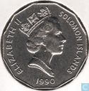 Solomon Islands 50 cents 1990