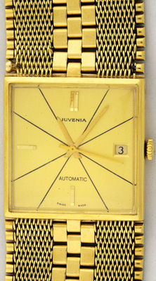 "Juvenia Automatic - ""Registered design"" - Zwitsers - Heren polshorloge"