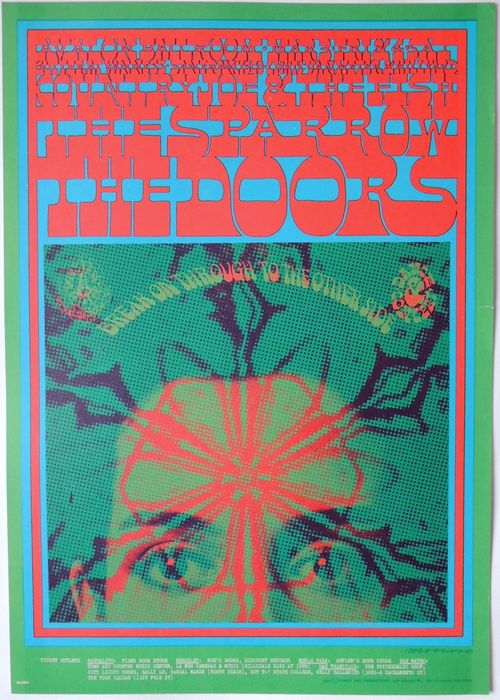 Iconic Doors 1967 Break On Through To The Other Side Avalon Poster San Francisco