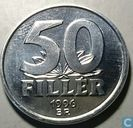 Hungary 50 fillér 1996