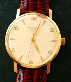 LONGINES – elegant vintage men's wristwatch – 1965-1970