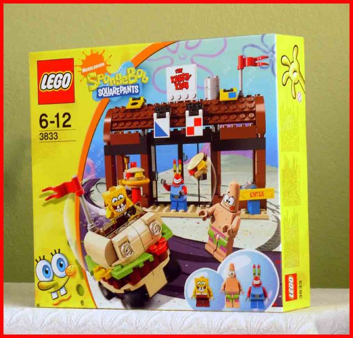 Spongebob Squarepants 3833 Krusty Krab Adventures Catawiki