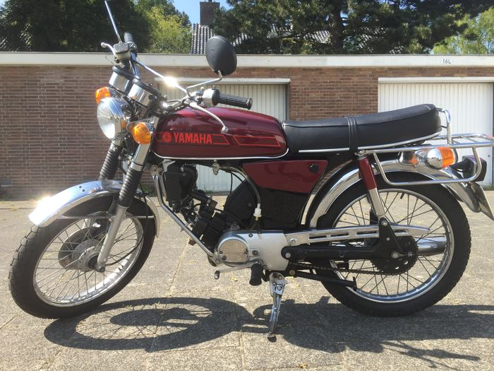 yamaha 50cc fs 1 water cooled around 1980 catawiki. Black Bedroom Furniture Sets. Home Design Ideas
