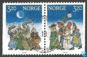Briefmarken - Norwegen - Weihnachten