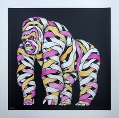 Otto Schade - Gorilla (Pink/Orange)