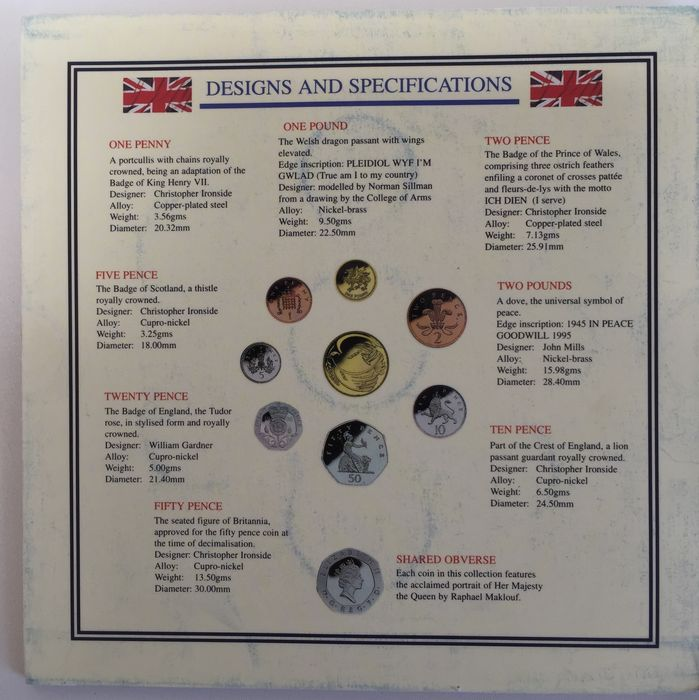United Kingdom - Collection of 11 Proof, BU & UNC Coin sets - Catawiki