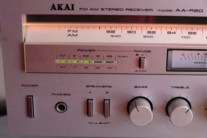 AKAI AA-R20 receiver in good condition - Catawiki