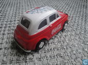 Model cars - Kinipay - Fiat 500 'Coca-Cola'