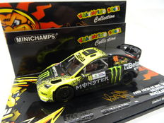 """Minichamps-Valentino Rossi Collection - Schaal 1/43 - Ford Focus RS WRC """"BETA"""" # 6 Valentino Rossi Monza Rally 2009"""