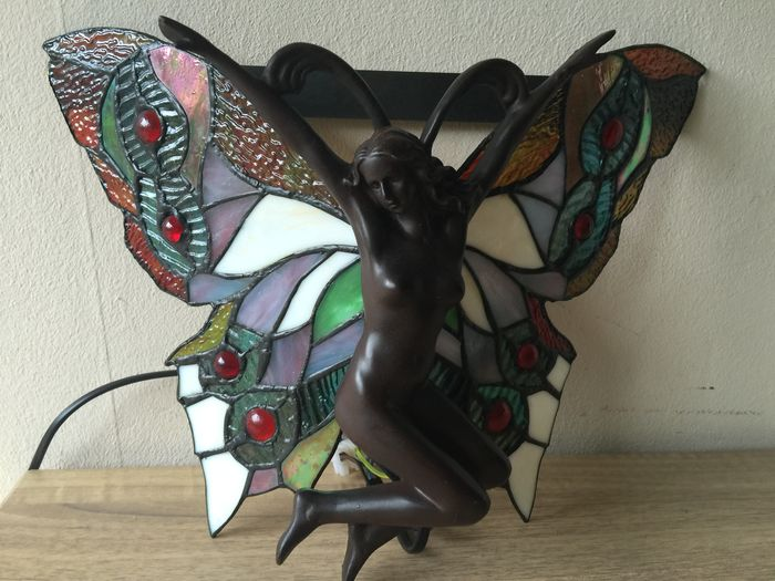 Applique libellule papillon fée style tiffany catawiki