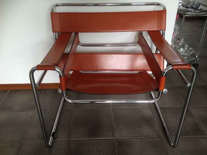 Marcel Breuer For Fasem   2x U0027Wassilyu0027 Chair