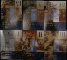 "Netherlands - Sets Year 2002/2003 ""400 years of VOC"" (6 different) complete"