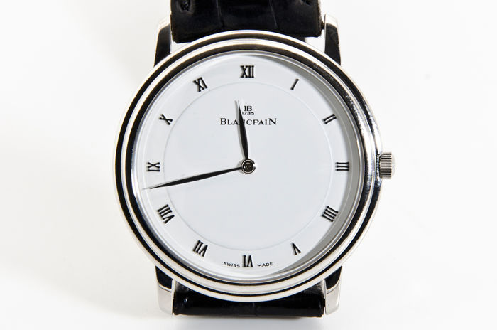 blancpain villeret ultra plate montre pour homme catawiki. Black Bedroom Furniture Sets. Home Design Ideas