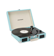 Crosley Cruiser Turntable Turquoise + Exclusive Promo Single Chuck Berry
