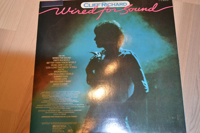 9 LP\'s with Cliff Richard. My Danish Collection, Thank You Very Much ...