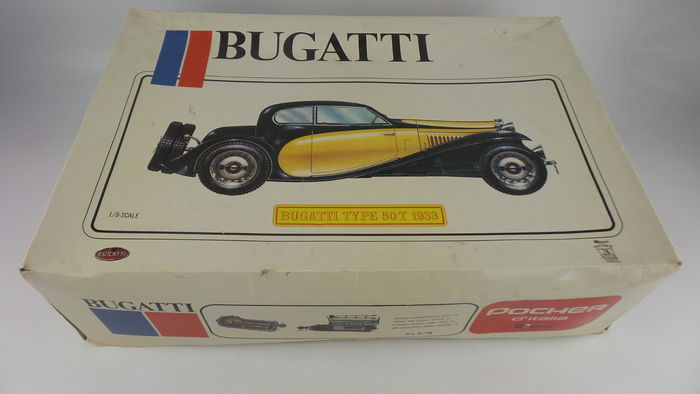 pocher - sale 1/8 - bugatti 50t 1933 k76 model car kit - catawiki