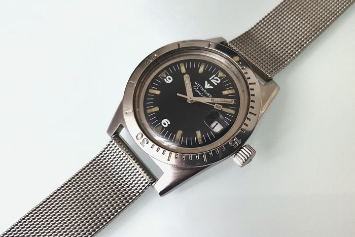 60649a88cb72 Wittnauer (Longines) Diver - Men s wristwatch - 1960s - Catawiki